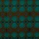 Tissu Wax véritable - Vert émeraude