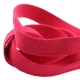 Ruban sangle coton, rouleau de 20 mètres - Rouge