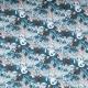Tissu jersey astronaute & fusée - Bleu