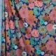 Tissu coton fleuri vintage chic - Multicolore