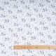 Tissu jersey licornes & paillettes - Doré