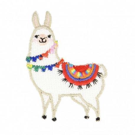 Ecusson Lama - Multicolore