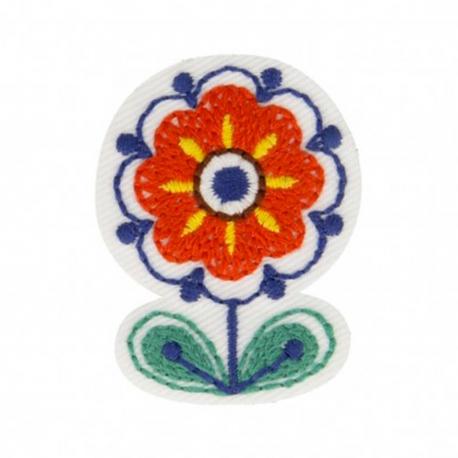 Ecusson scandy fleurs - Multicolore