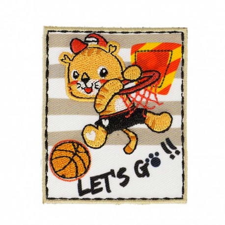 Ecusson enfant sport - Basket