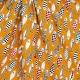 Tissu chic fish - Moutarde