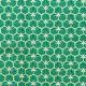 Tissu coton cretonne good day - Vert