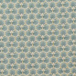 Tissu coton cretonne good day - Amande