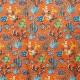 Tissu coton cretonne cactus - Paprika