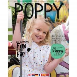 Magazine Poppy couture enfant, printemps été 2019