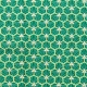 Tissu coton enduit good day - Vert