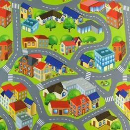 Feutrine enfant ma ville - Maisons & routes