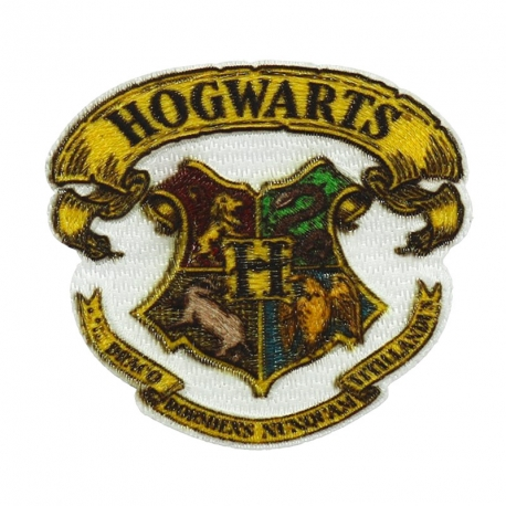 Ecusson Harry Potter brodé - 4 Maisons Poudlard