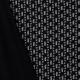 Tissu jersey rayures funky - Noir & blanc