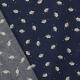 Tissu Coton Voitures de Police - Bleu