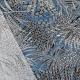 Tissu Viscose Palmier - Bleu