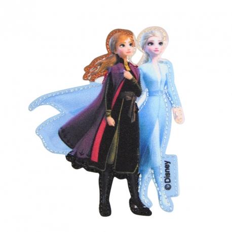 EcussonThermocollant Reine des neiges 2 Elsa & Anna - Disney