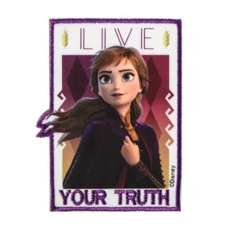 EcussonThermocollant Reine des neiges 2 Anna - Disney