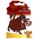 EcussonThermocollant Roi Lion Pumbaa - Disney