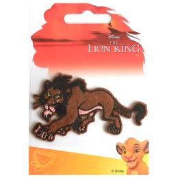 EcussonThermocollant Roi Lion Scar - Disney