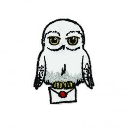 Ecusson Harry Potter brodé - Hedwige