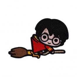 Ecusson Harry Potter brodé - Balai