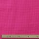 Tissu Popeline Coton pois - Magenta & Blanc