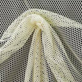 Tissu Filet - Ecru