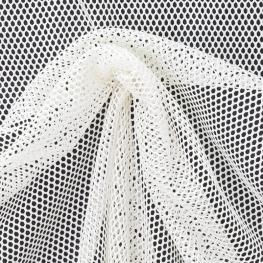 Tissu Filet - Blanc