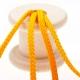 Cordon uni, 5 mètres - Jaune lemon