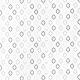 Tissu Popeline Petit Losange 100% Coton Bio GOTS - Blanc & Noir