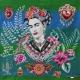 Carré Jacquard Frida - Vert