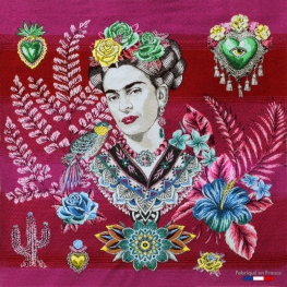 Carré Jacquard Frida - Ecru