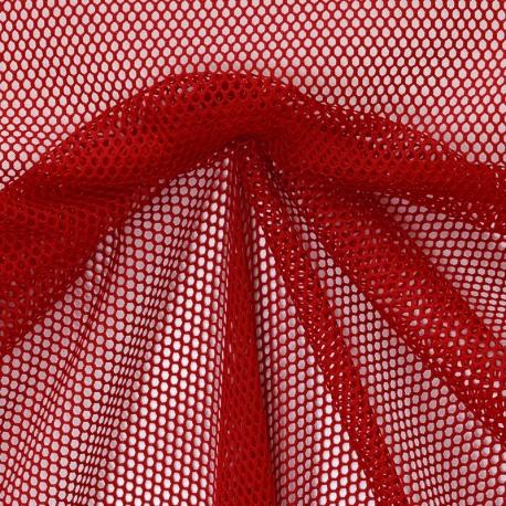 Tissu Filet - Rouge