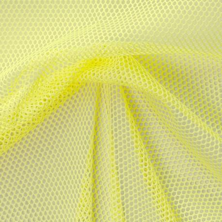 Tissu Filet - Jaune
