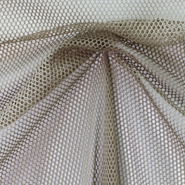 Tissu Filet - Taupe