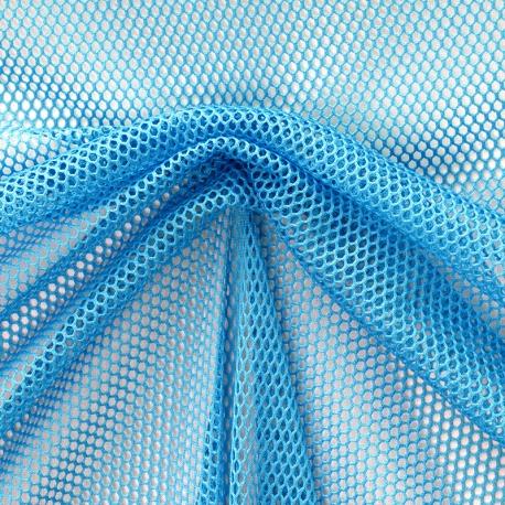 Tissu Filet - Bleu