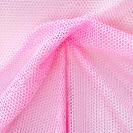 Tissu Filet - Rose