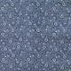 Tissu Popeline Pissenlit - Bleu