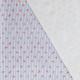 Tissu Popeline Coton Tortue - Blanc