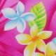 Tissu Viscose Oiseau de paradis - Fushia