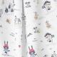 Tissu Popeline Coton Little Pirates - Blanc