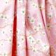 Tissu Coton Cretonne Amandier - Rose