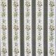 Tissu Popeline Fleur & Ligne 100% Coton Bio GOTS - Taupe