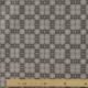 Tissu Popeline Carreaux 100% Coton Bio GOTS - Gris