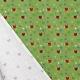 Tissu Popeline Coeur Sportif 100% Coton Bio GOTS - Blanc