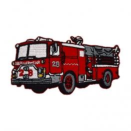 Ecusson Camion de Pompier