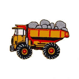 Ecusson Camion de Chantier