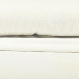 Tissu éponge uni bambou Okeo-Tex - Ecru