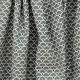Tissu coton cretonne éventails - Vert kaki