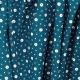Tissu Coton Cretonne Mosaïque - Bleu